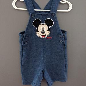 Disney Mickey Mouse shortalls